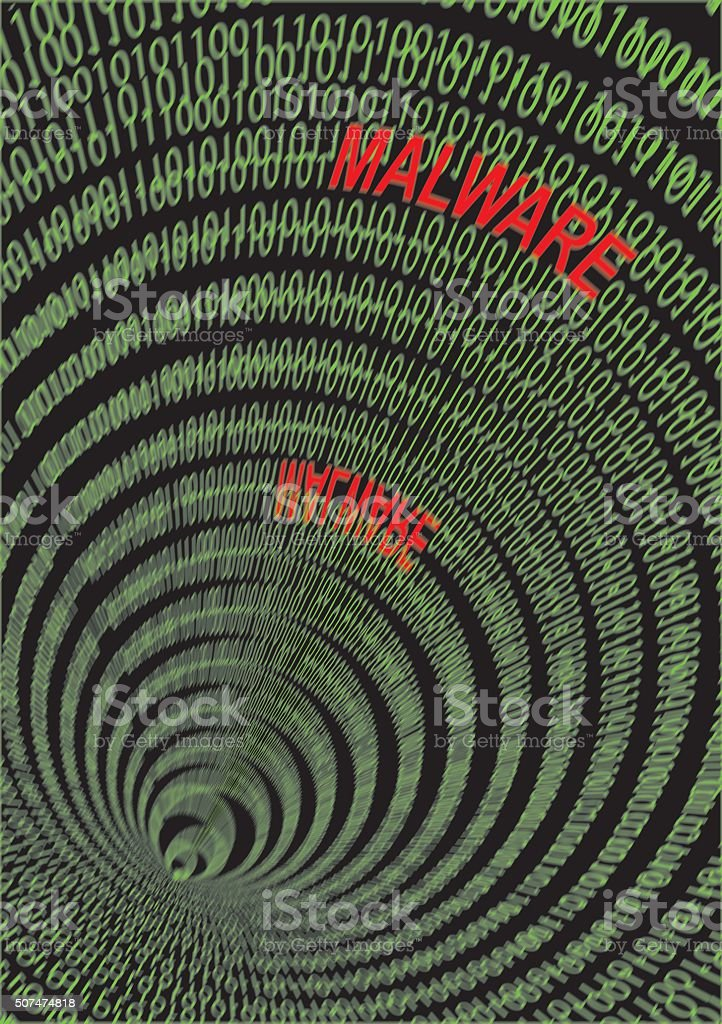 Malware stock photo