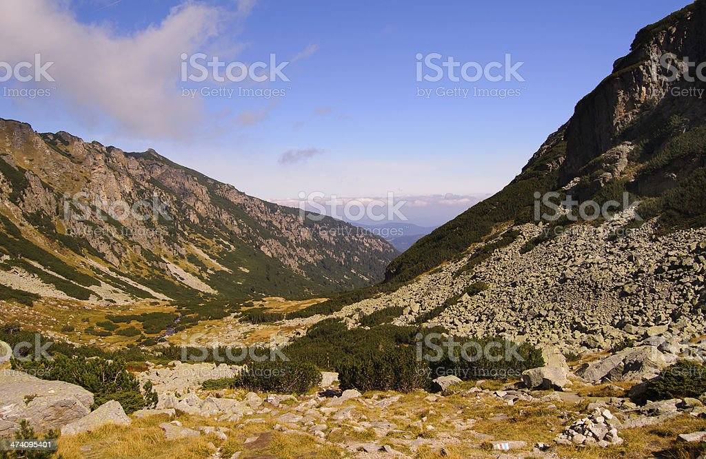 Malyovitsa Rila Mountain royalty-free stock photo