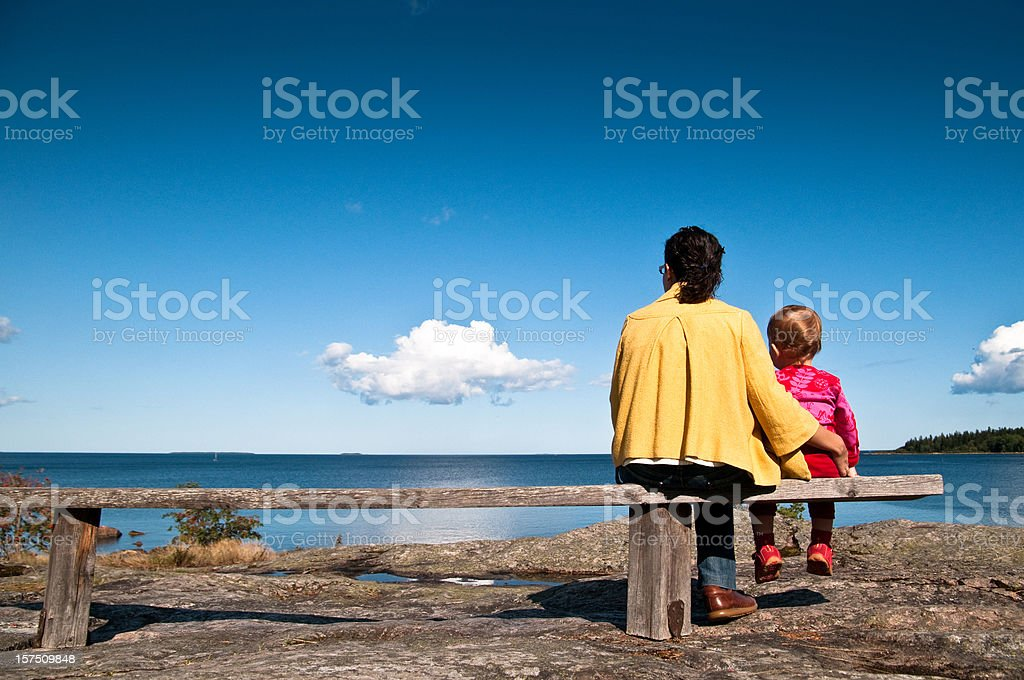 Mama look royalty-free stock photo