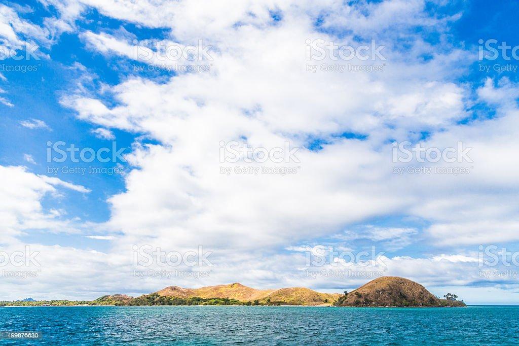 Mamanuca Islands in Fiji stock photo
