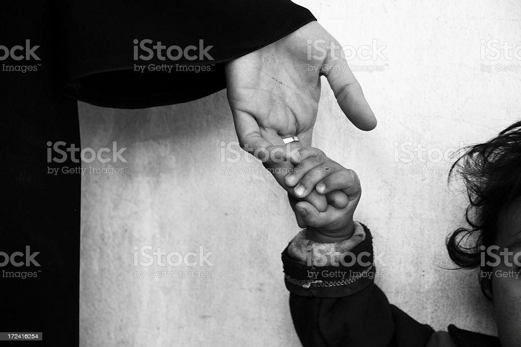 mama's hand1 royalty-free stock photo