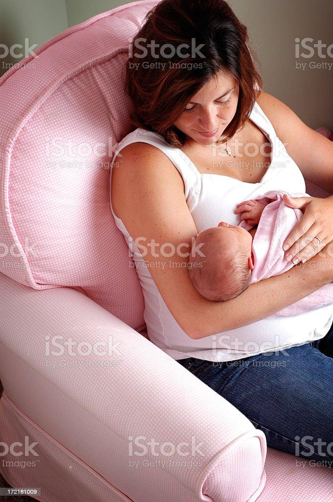 Mama's Joy royalty-free stock photo
