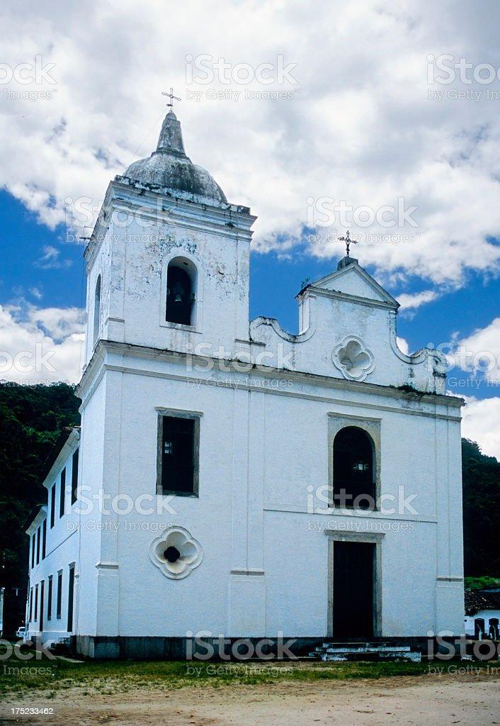 Mambucaba Church royalty-free stock photo