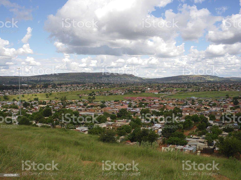 Mamelodi Township stock photo
