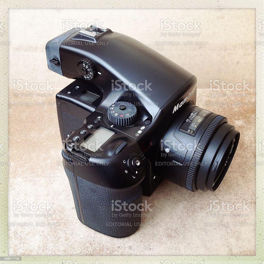Mamiya 645d  Medium format Digital Camera royalty-free stock photo