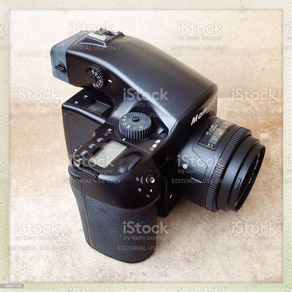 Mamiya 645d  Medium format Digital Camera stock photo