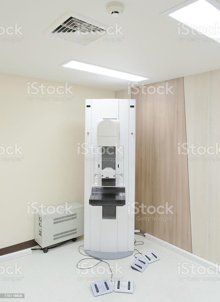 mammogram machine stock photo