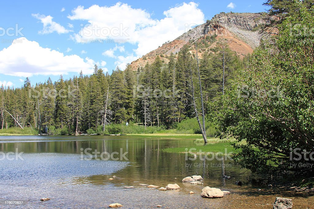 Mammoth Lake royalty-free stock photo