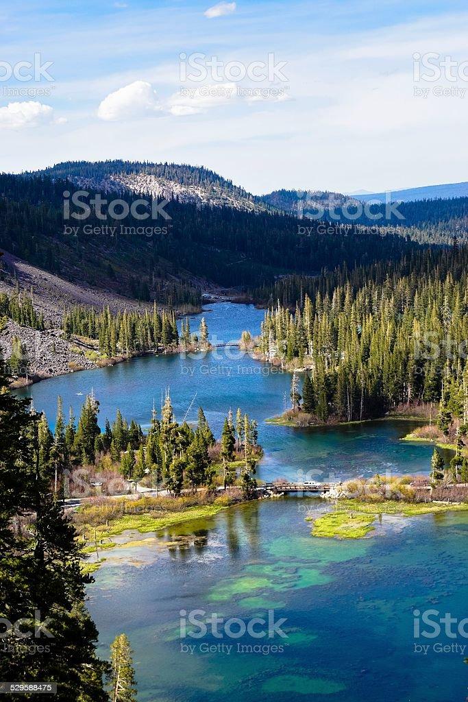 Mammoth Lakes, California stock photo