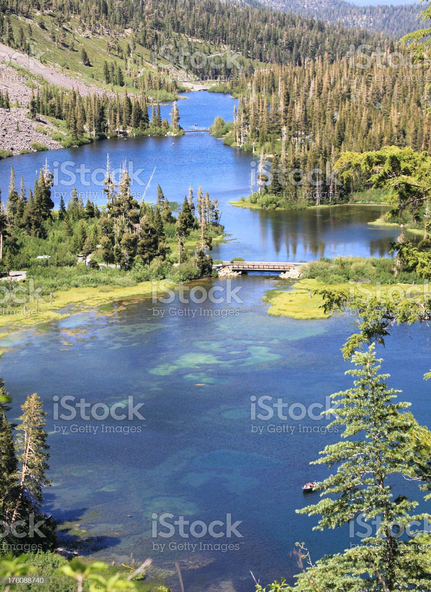 Mammoth Lakes royalty-free stock photo