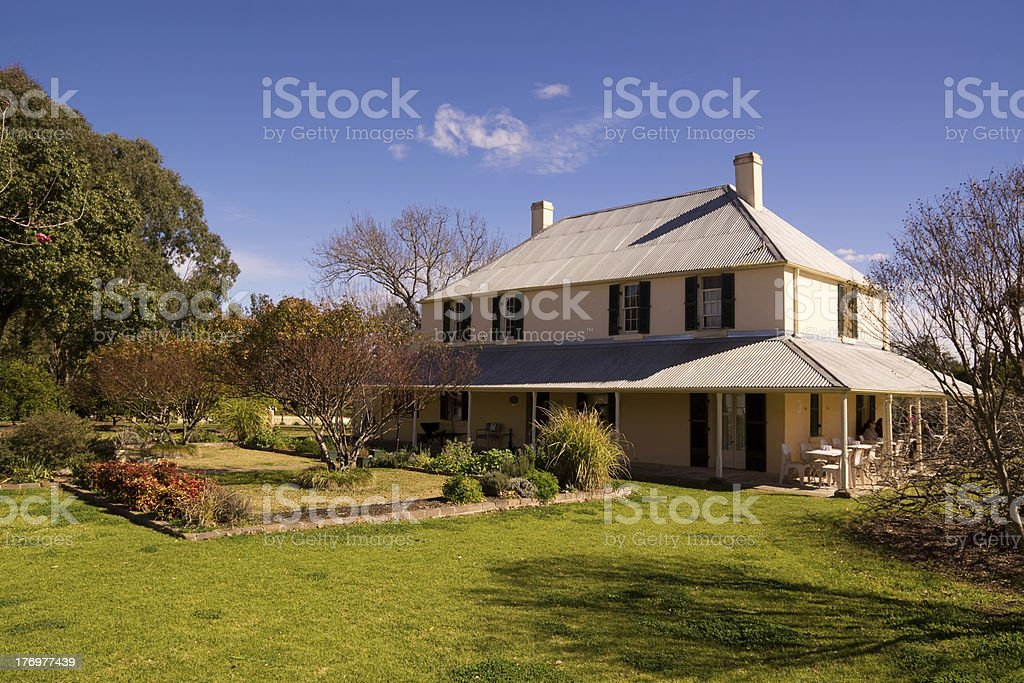 Mamre House stock photo