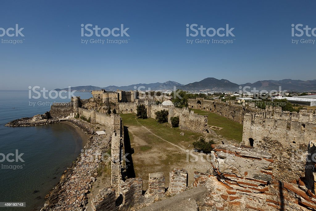 Mamure Castle stock photo
