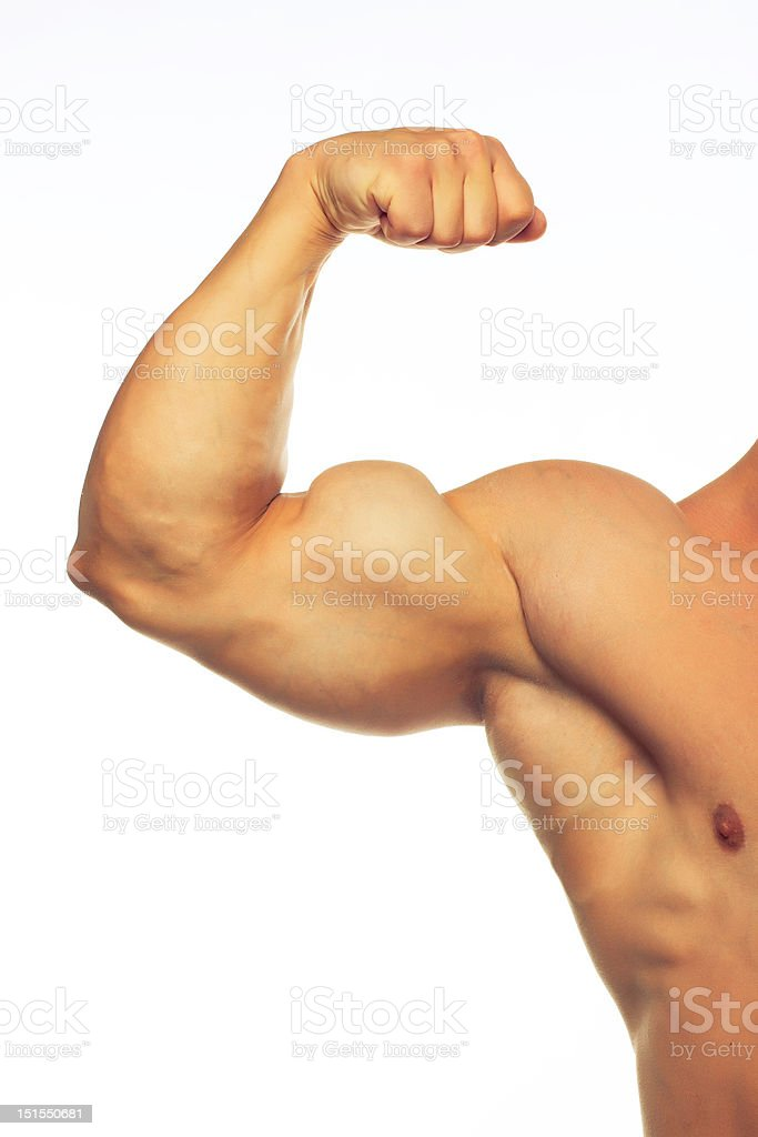 Man and body royalty-free stock photo