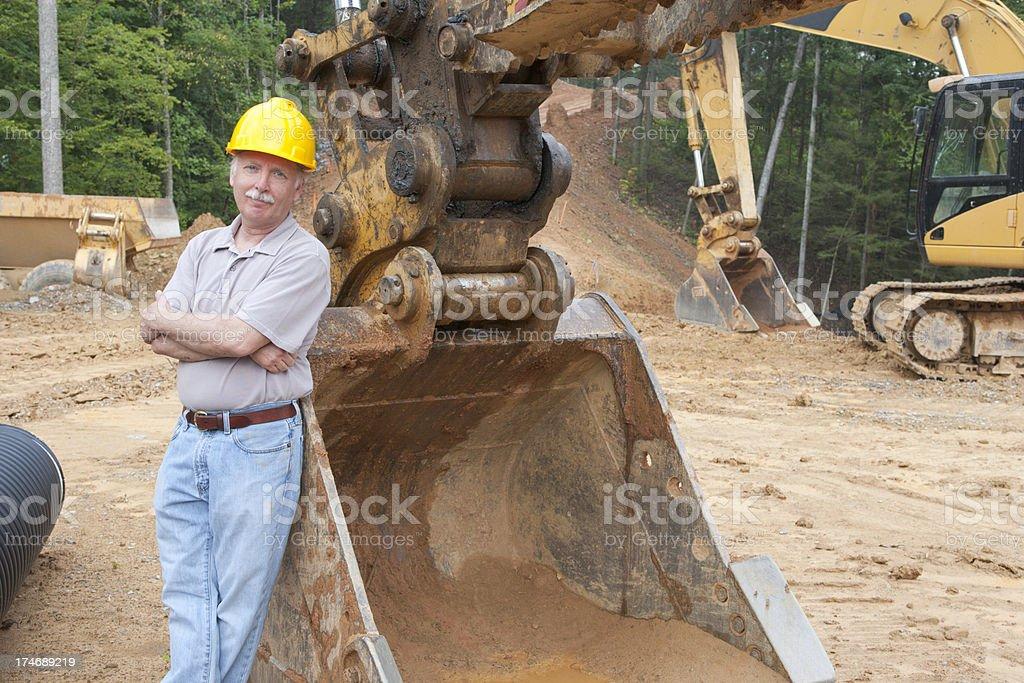 Man and Machine (XXL) royalty-free stock photo