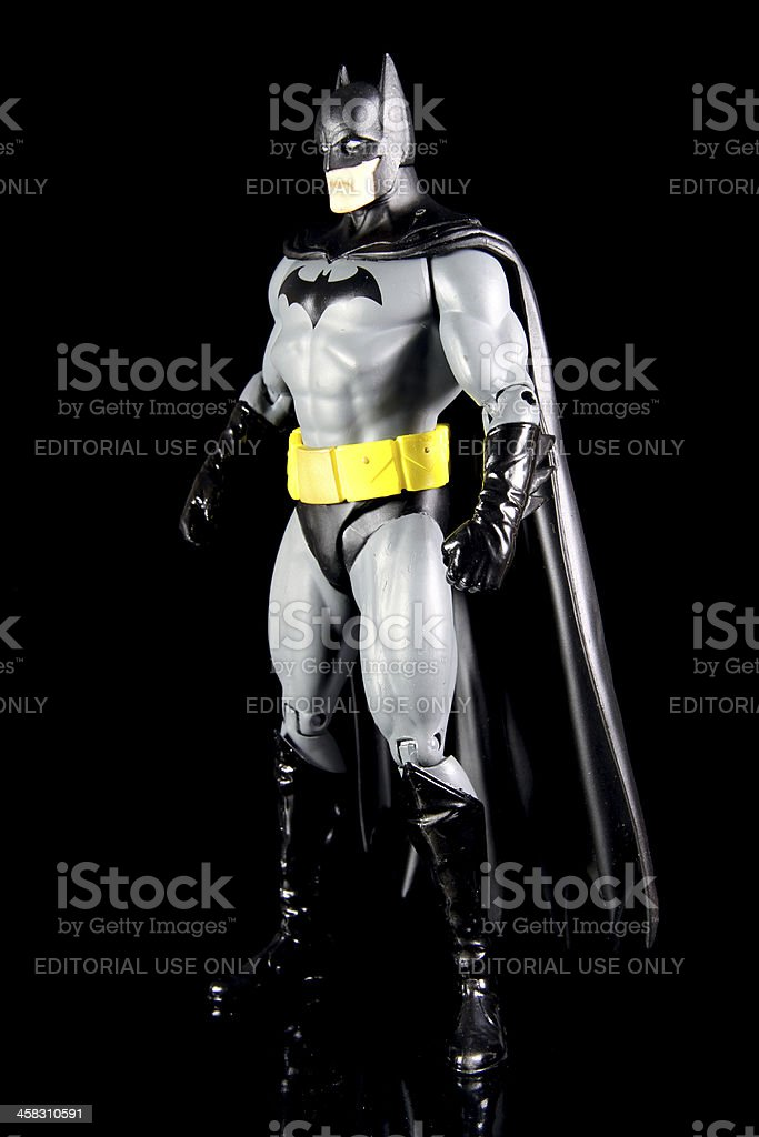 Man and the Bat stock photo