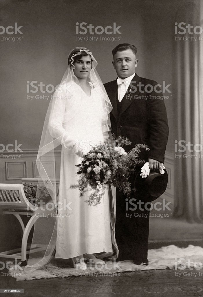 Man and  Wife stock photo