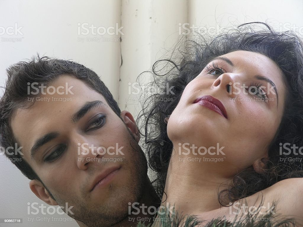 Man and woman-9 royalty-free stock photo
