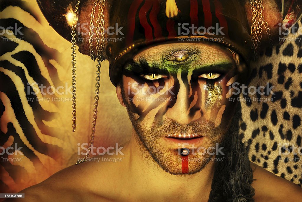 Man animal royalty-free stock photo