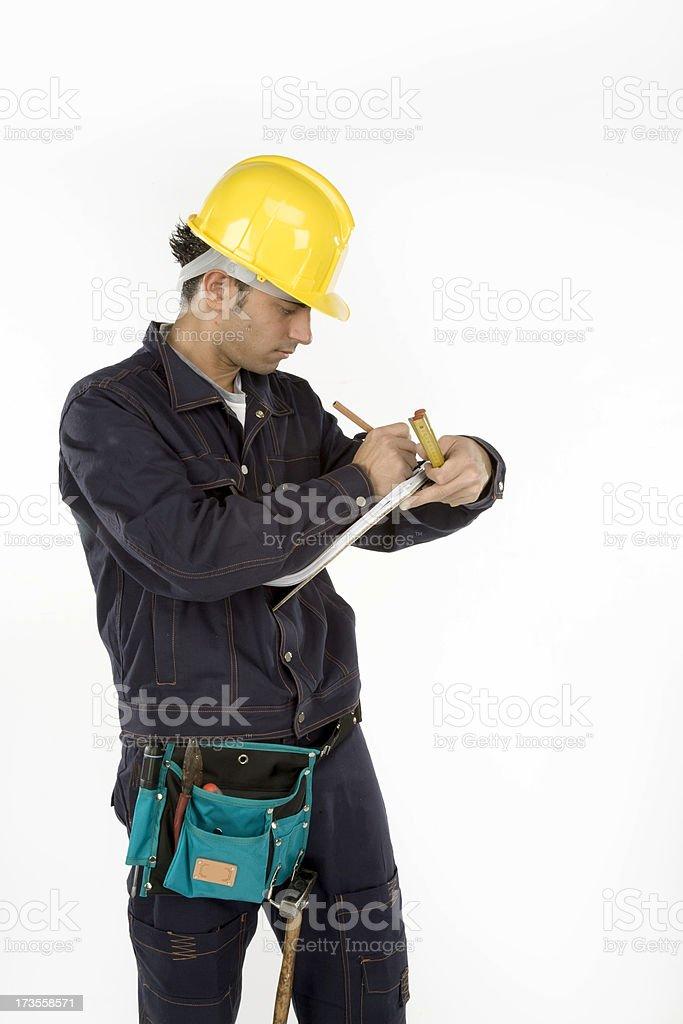 man at work royalty-free stock photo