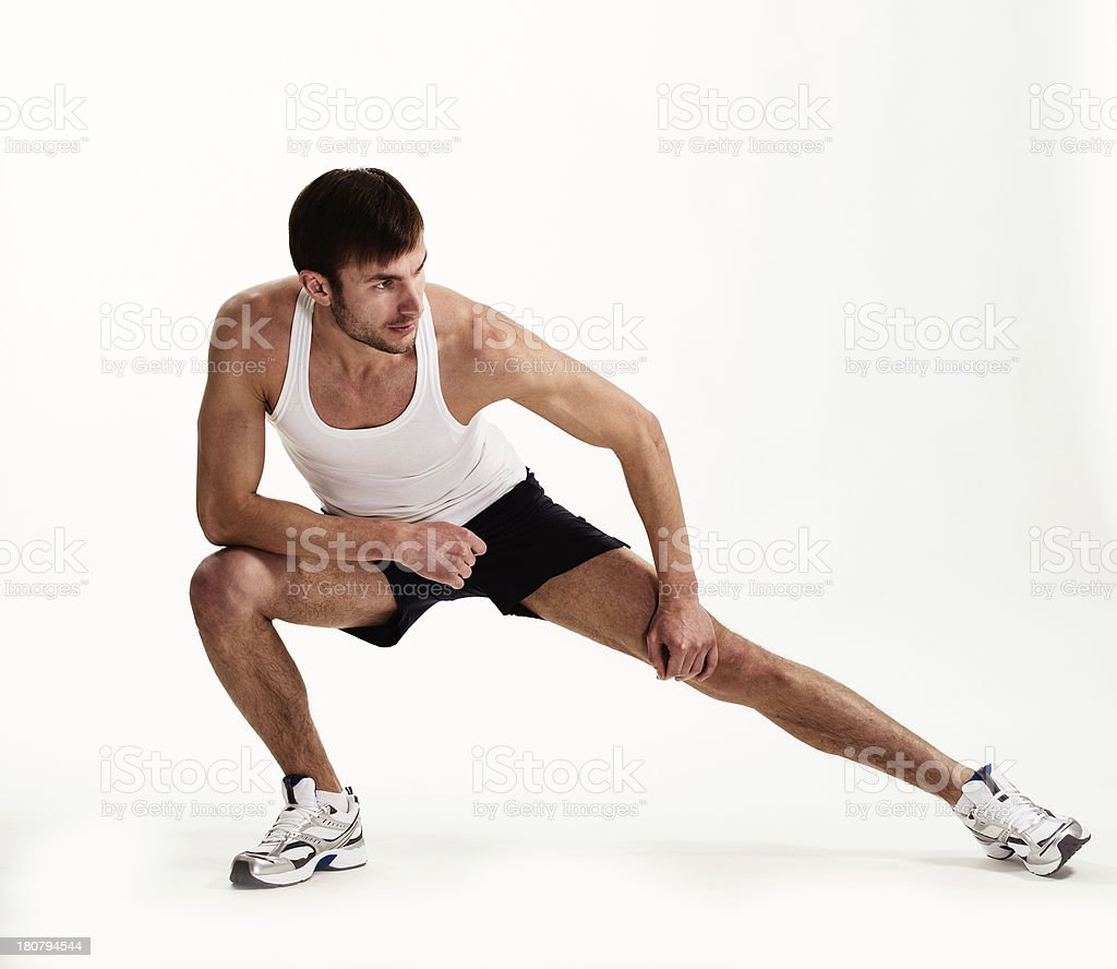 man  athlete royalty-free stock photo