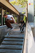Man Attempts Difficult Skateboard Trick While Being Filmed