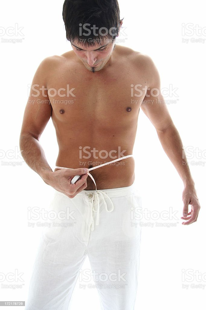 Man Body Care royalty-free stock photo