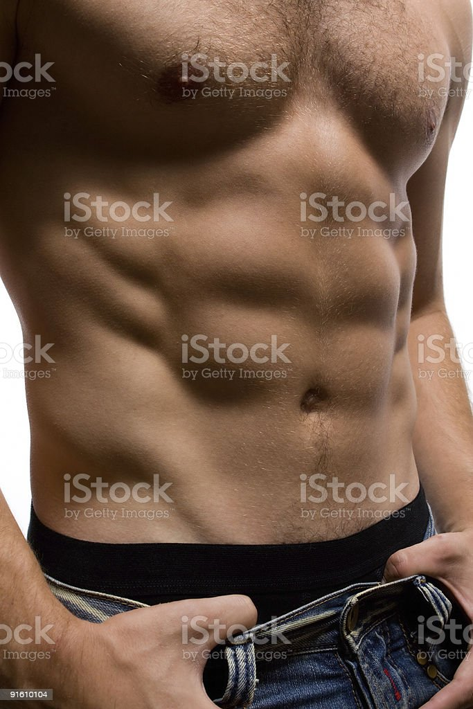 Man body royalty-free stock photo