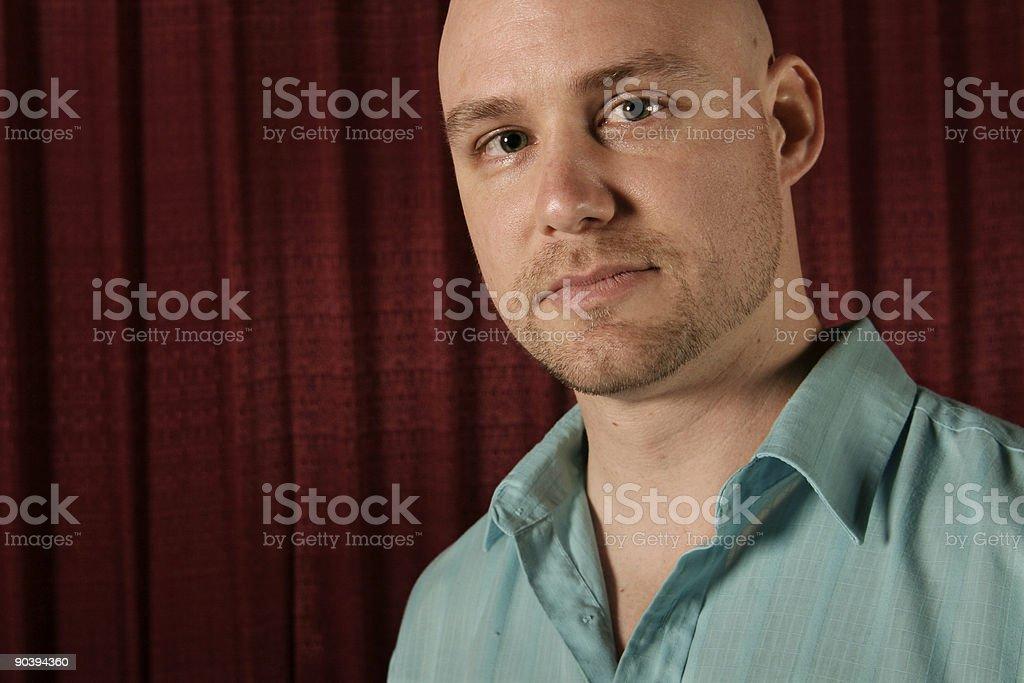 man close up royalty-free stock photo