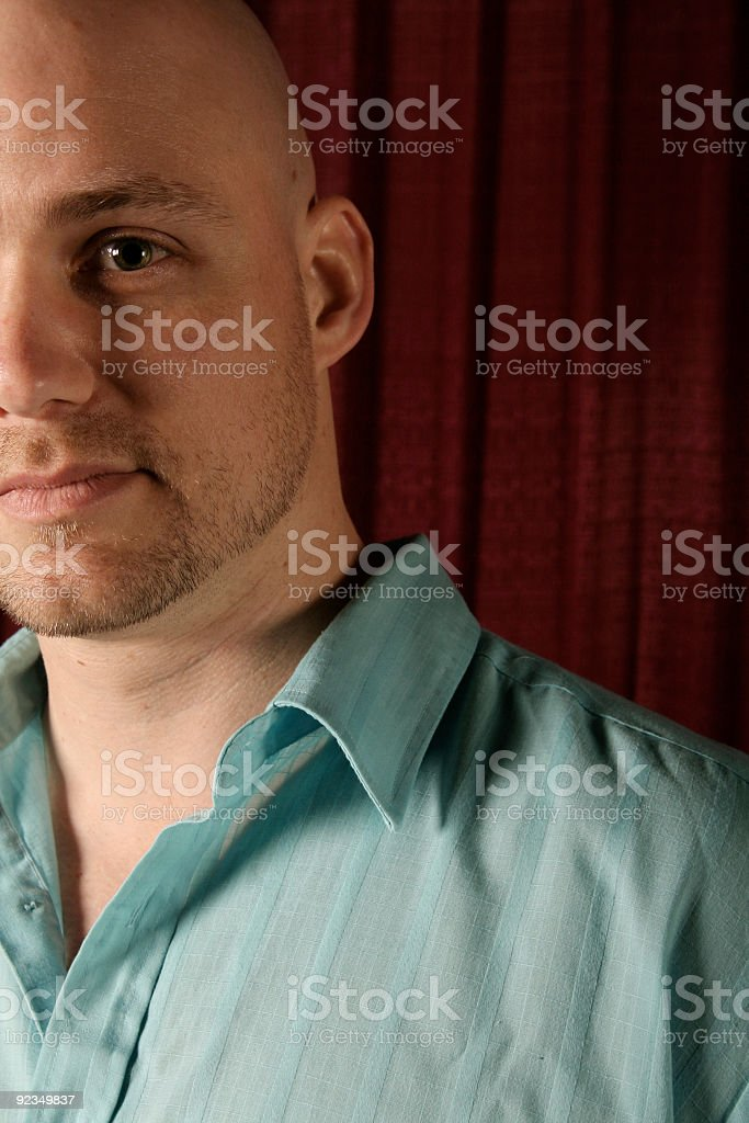 man close up royalty-free stock photo