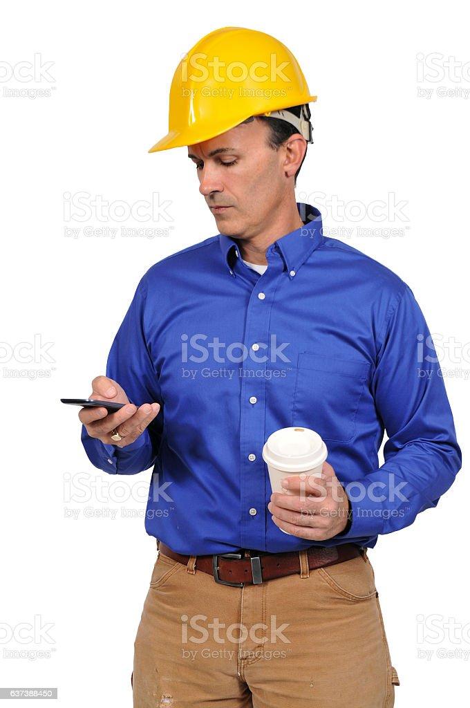 Man Construction Worker stock photo
