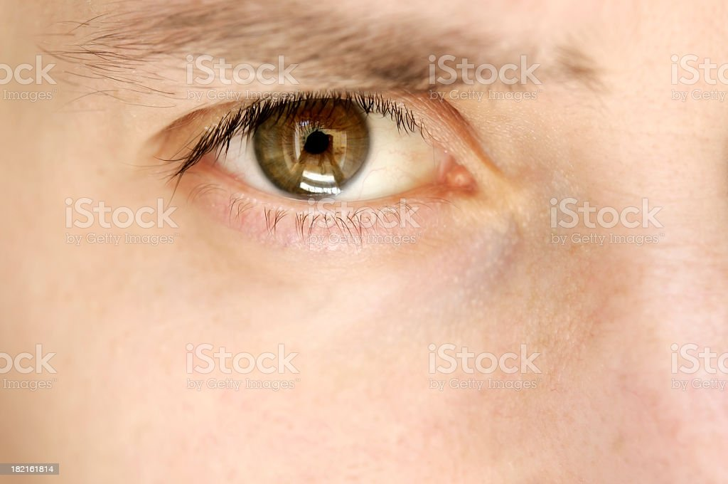 man eye royalty-free stock photo