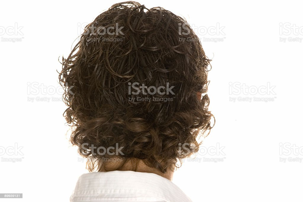 man from behind royalty-free stock photo