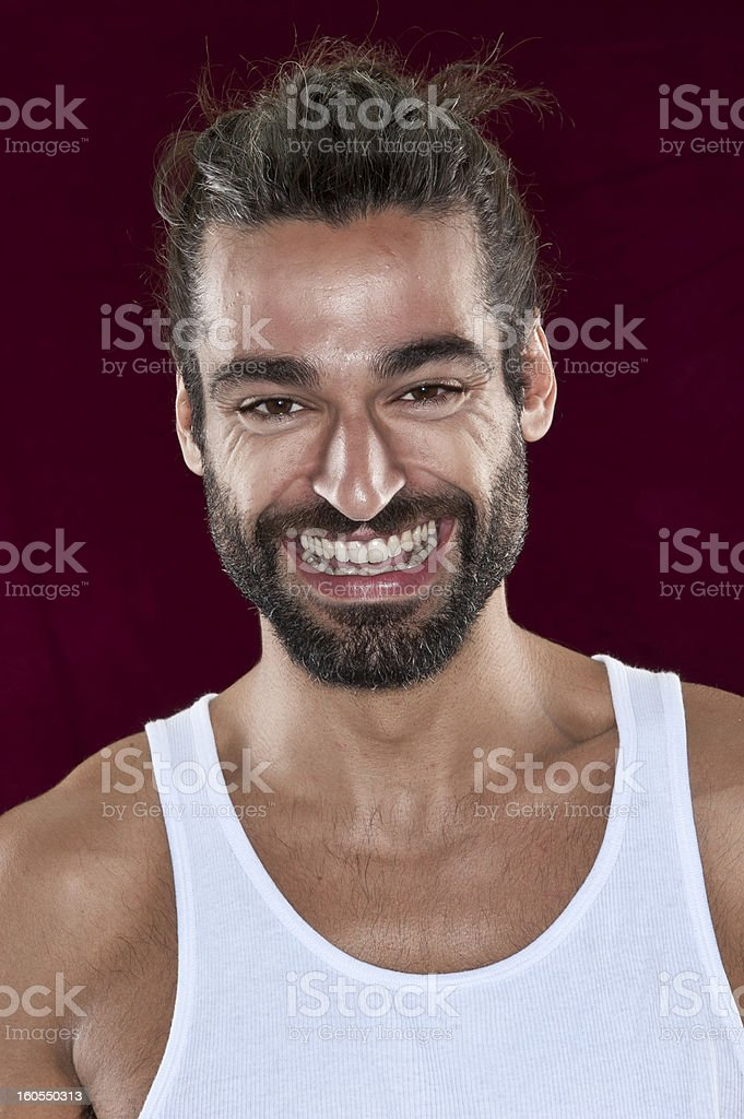Man from Middle East royalty-free stock photo