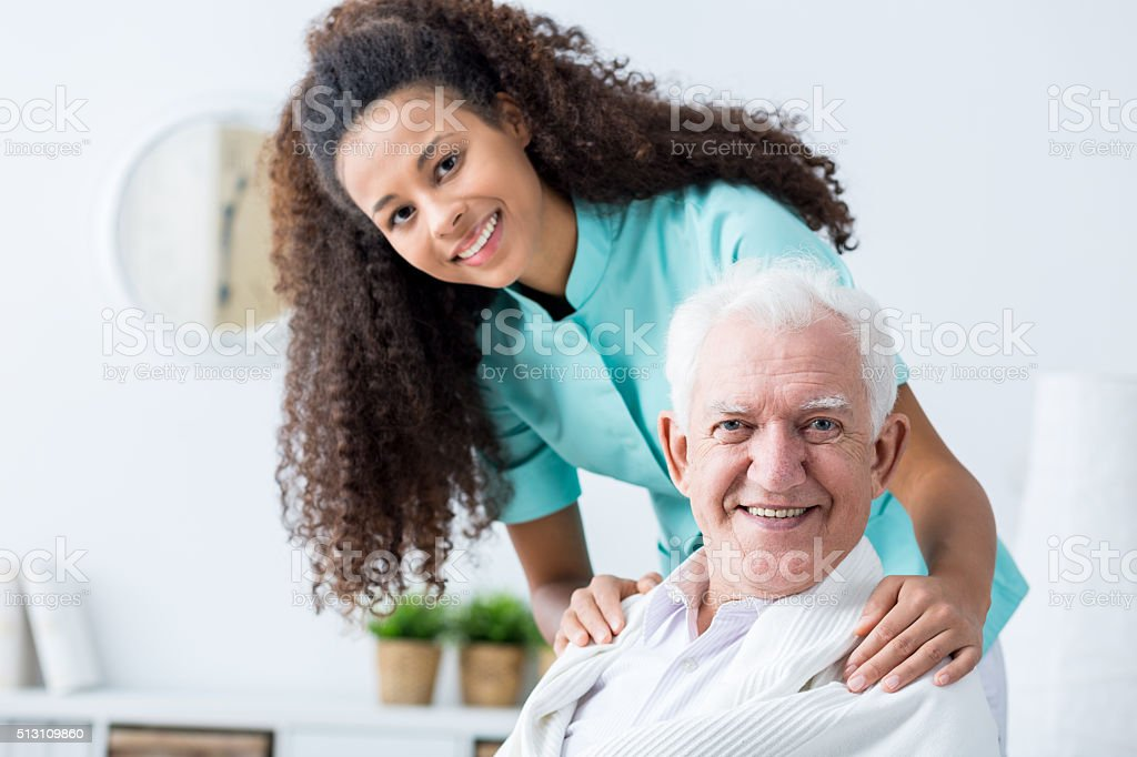 Man having private care stock photo