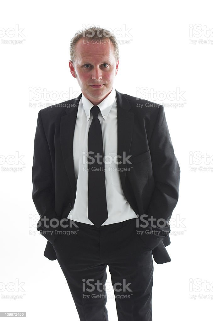 man in black royalty-free stock photo