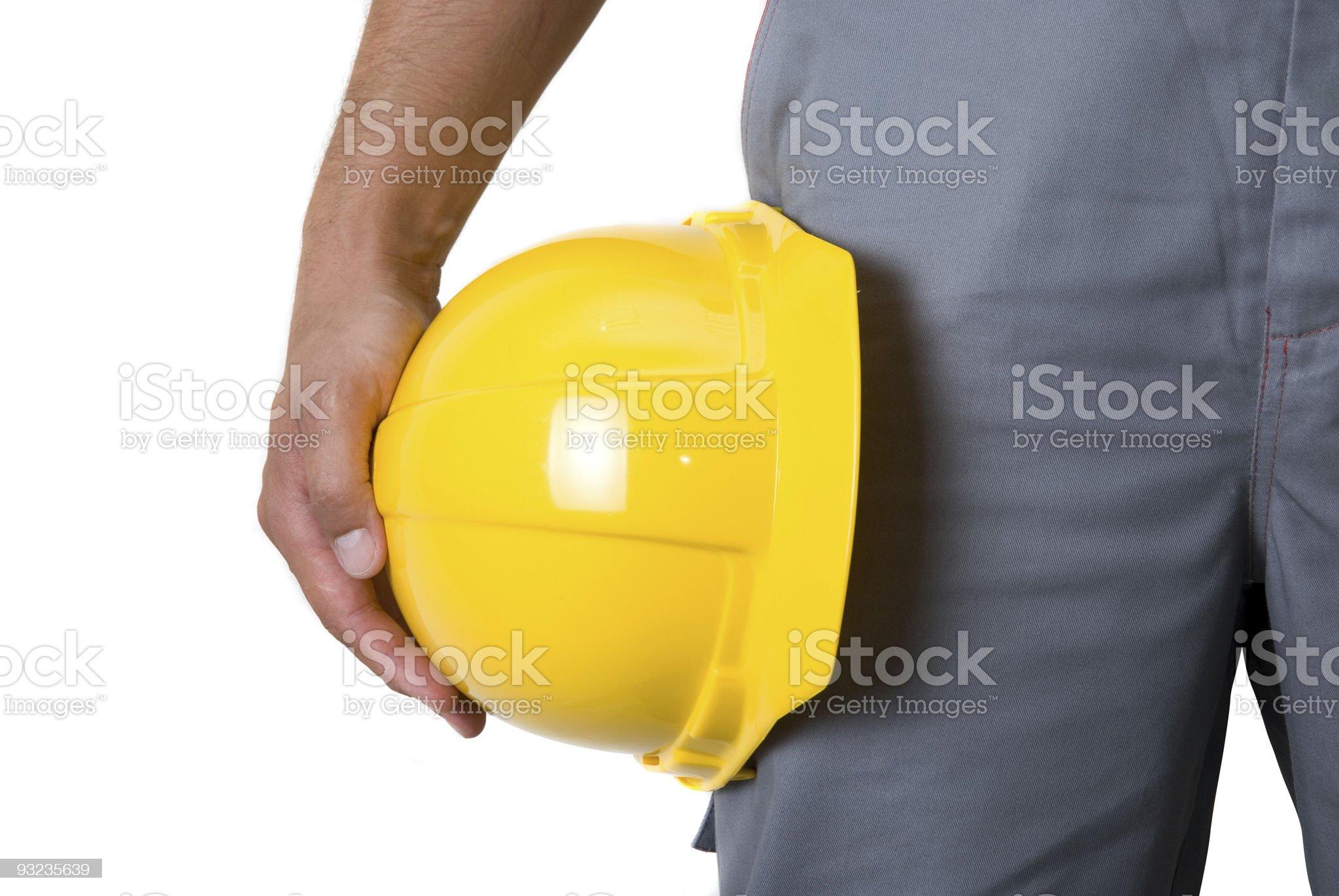 man in helmet royalty-free stock photo