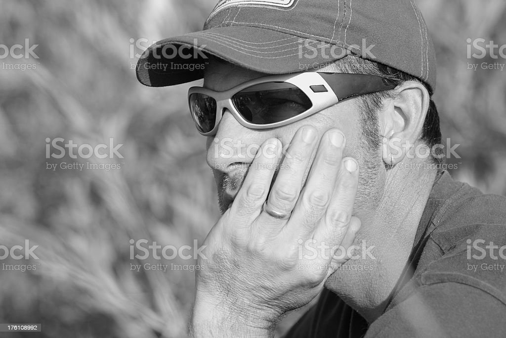 Man in His Late Thirties royalty-free stock photo