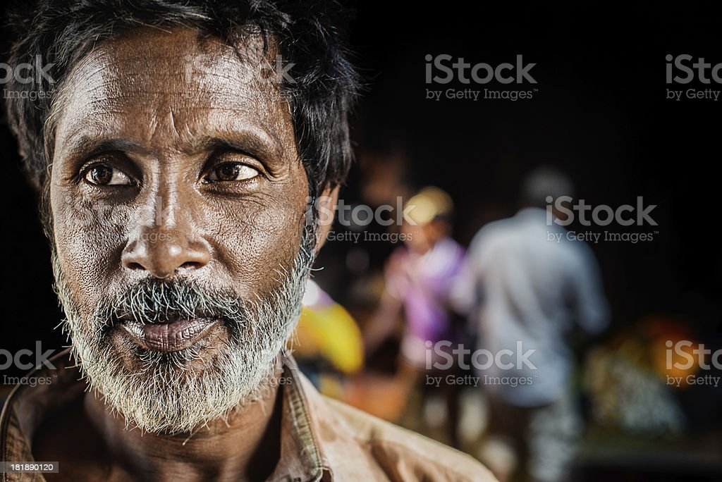 Man in India royalty-free stock photo