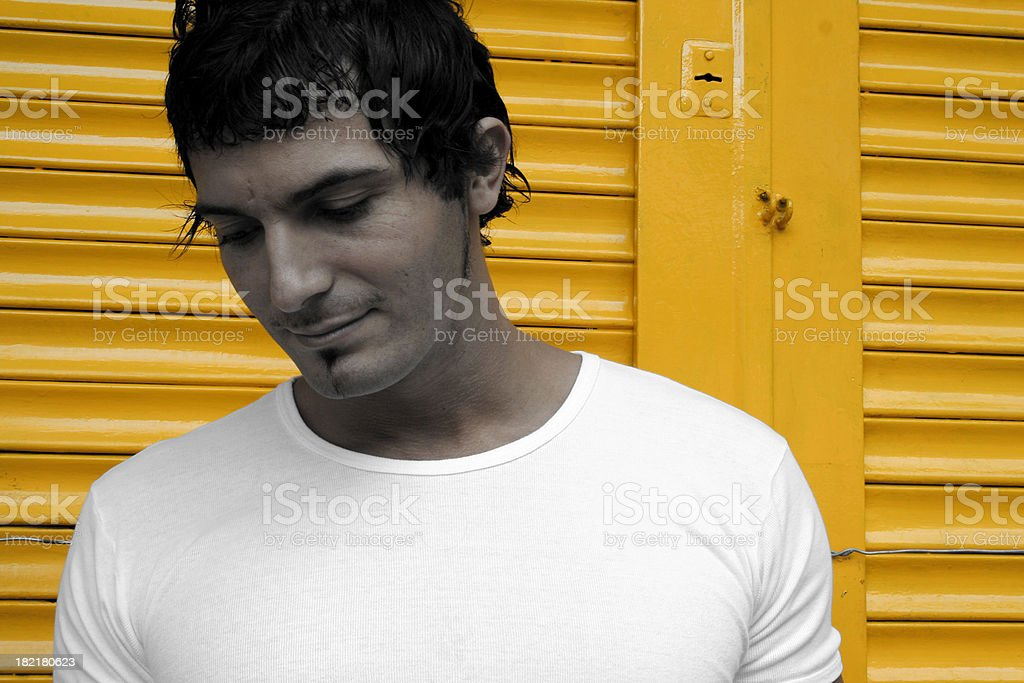 Man in the City royalty-free stock photo