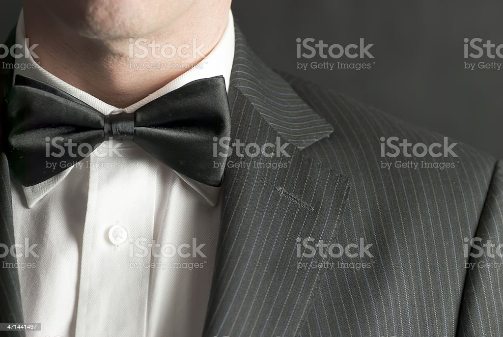Man In Tux royalty-free stock photo