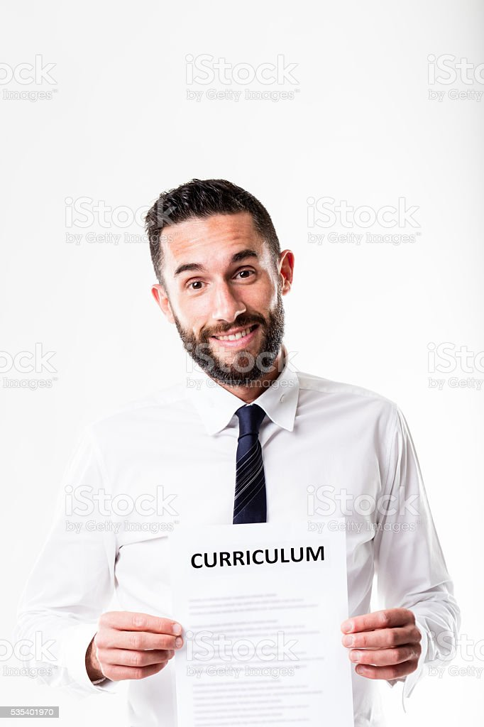 man is confident you're going to take on him stock photo