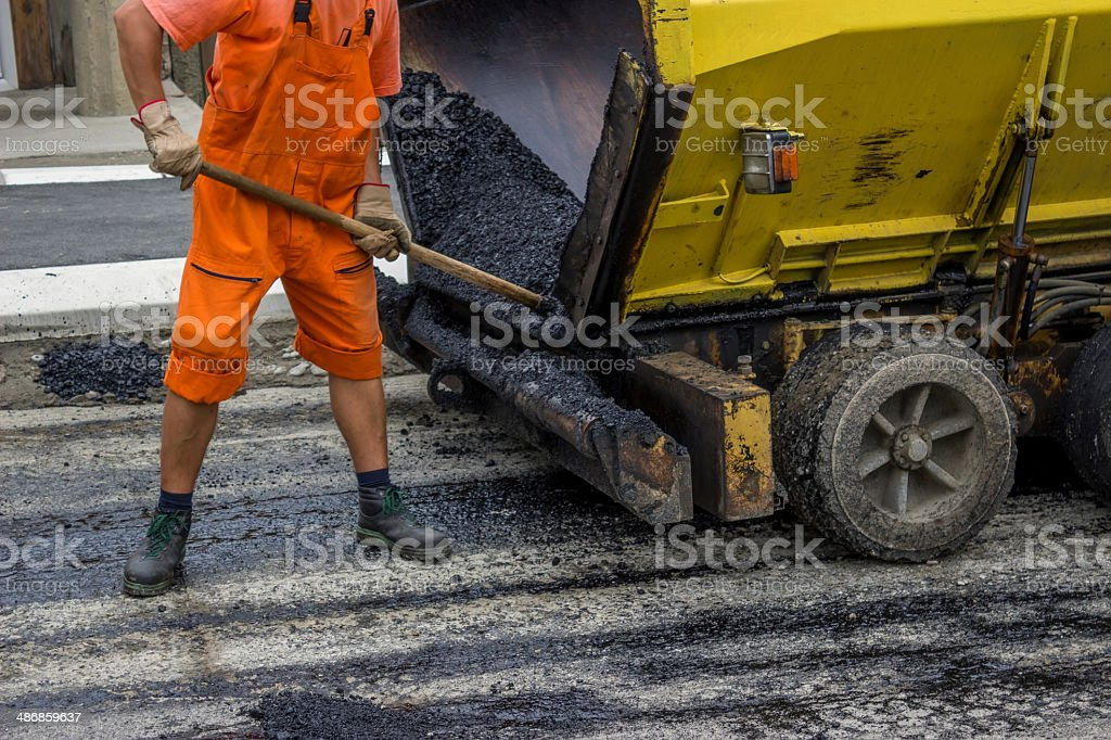 man is working 2 stock photo