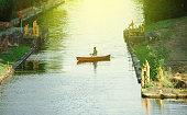 Man kayaking Strasbourg France