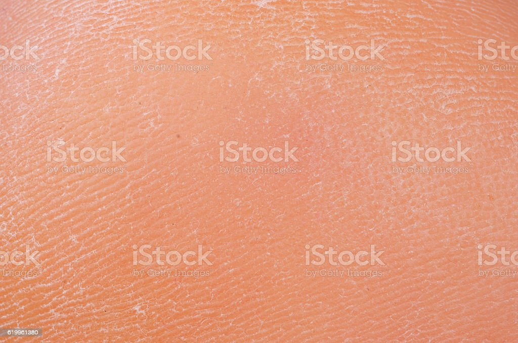 Man leg skin stock photo