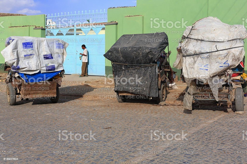 Man looking for his home keys. Mekelle-Ethiopia. 0453 stock photo