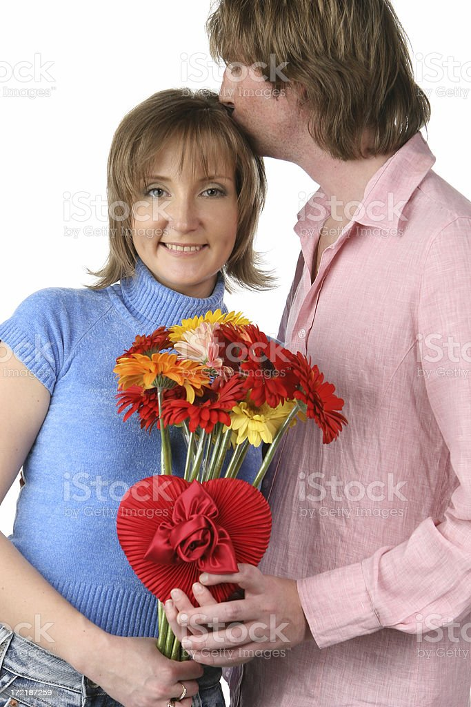 Man loving woman royalty-free stock photo