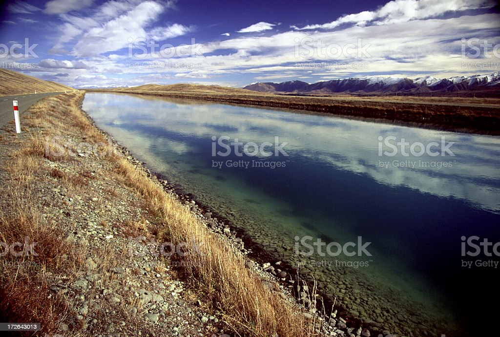 Man made canel royalty-free stock photo