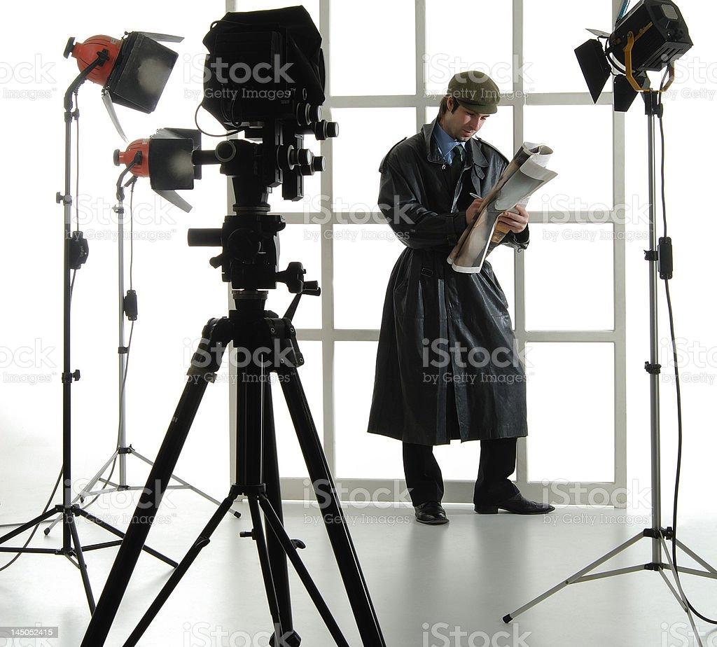 Mann-Modelle Lizenzfreies stock-foto