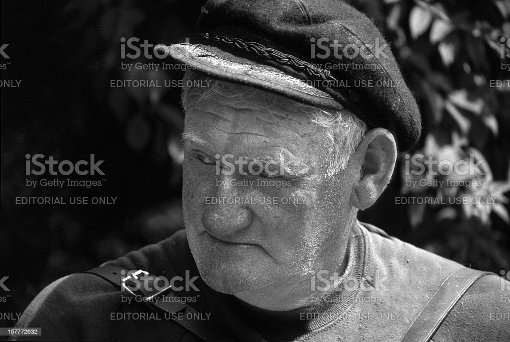 Man of Aran stock photo