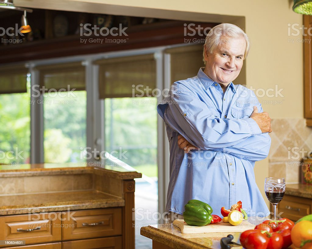 man of the house stock photo